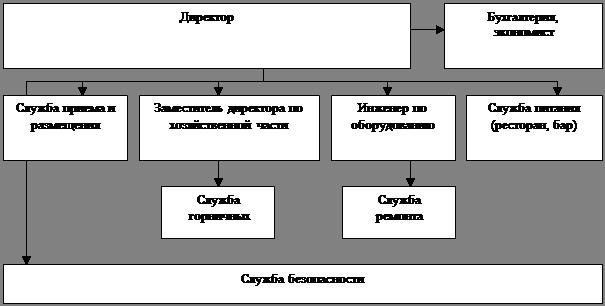 Рис.6 Организационная