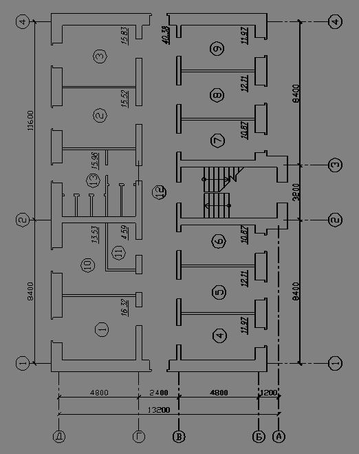 План полов (1-ый этаж)