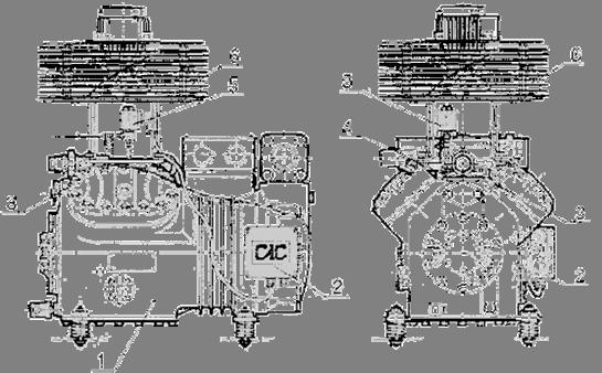 поршневой компрессор с