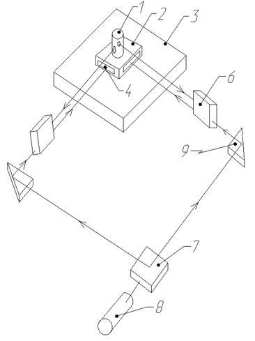 Схема координатного стола